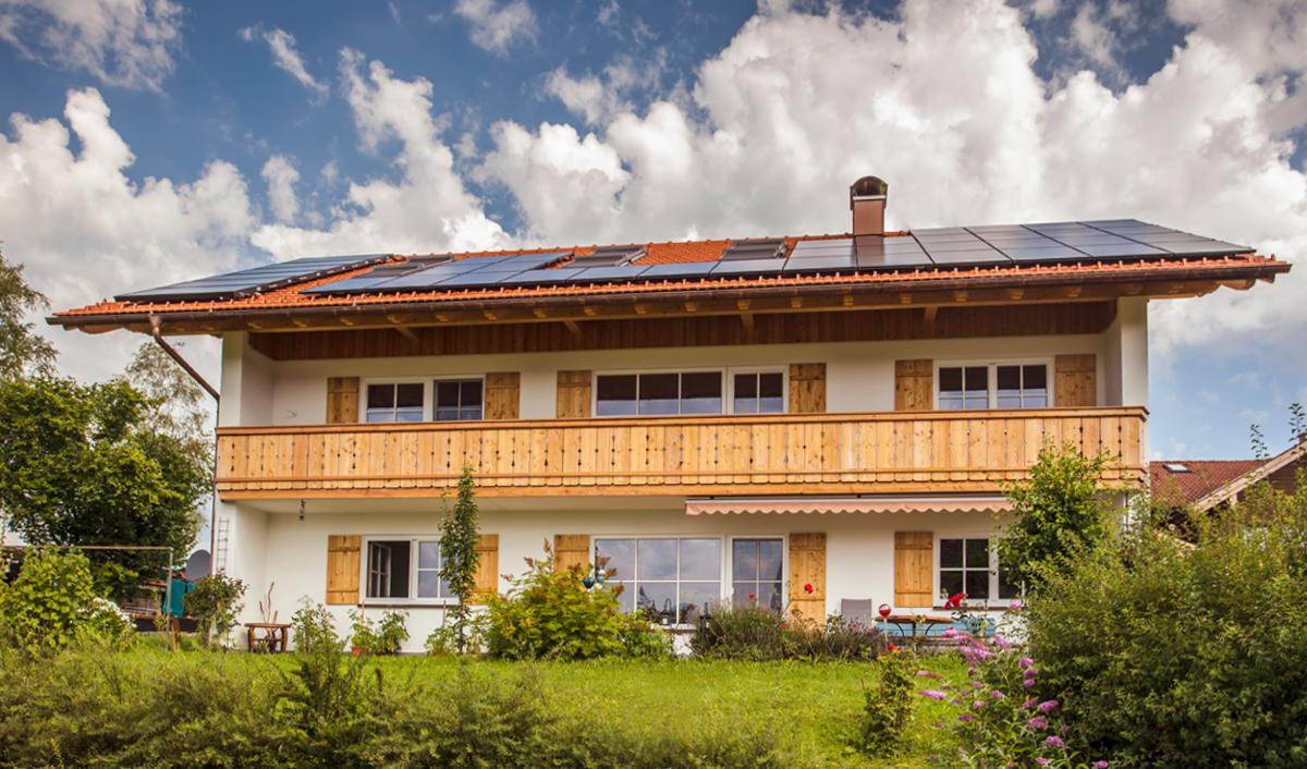 Ferienwohnung Leibersberg - unser Haus
